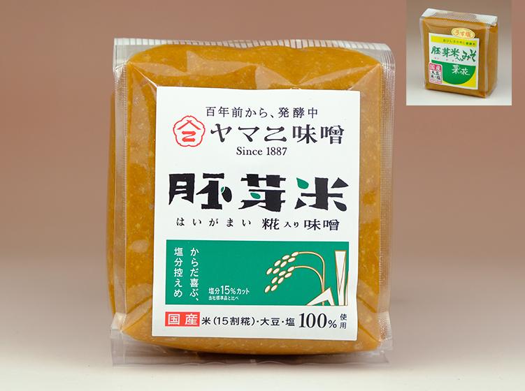 胚芽米糀入りみそ