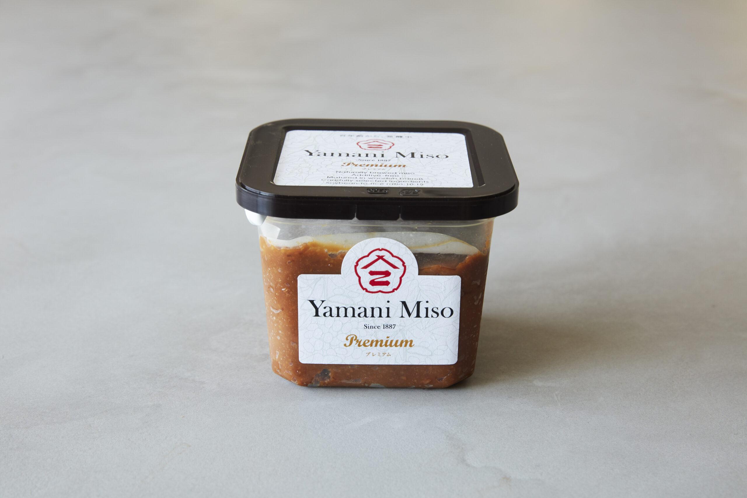 ヤマニ味噌プレミアム発売再開のお知らせ。